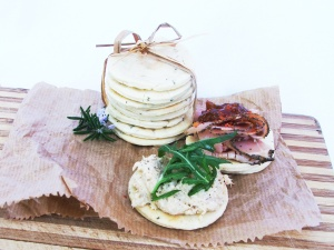 Rosemary water biscuits