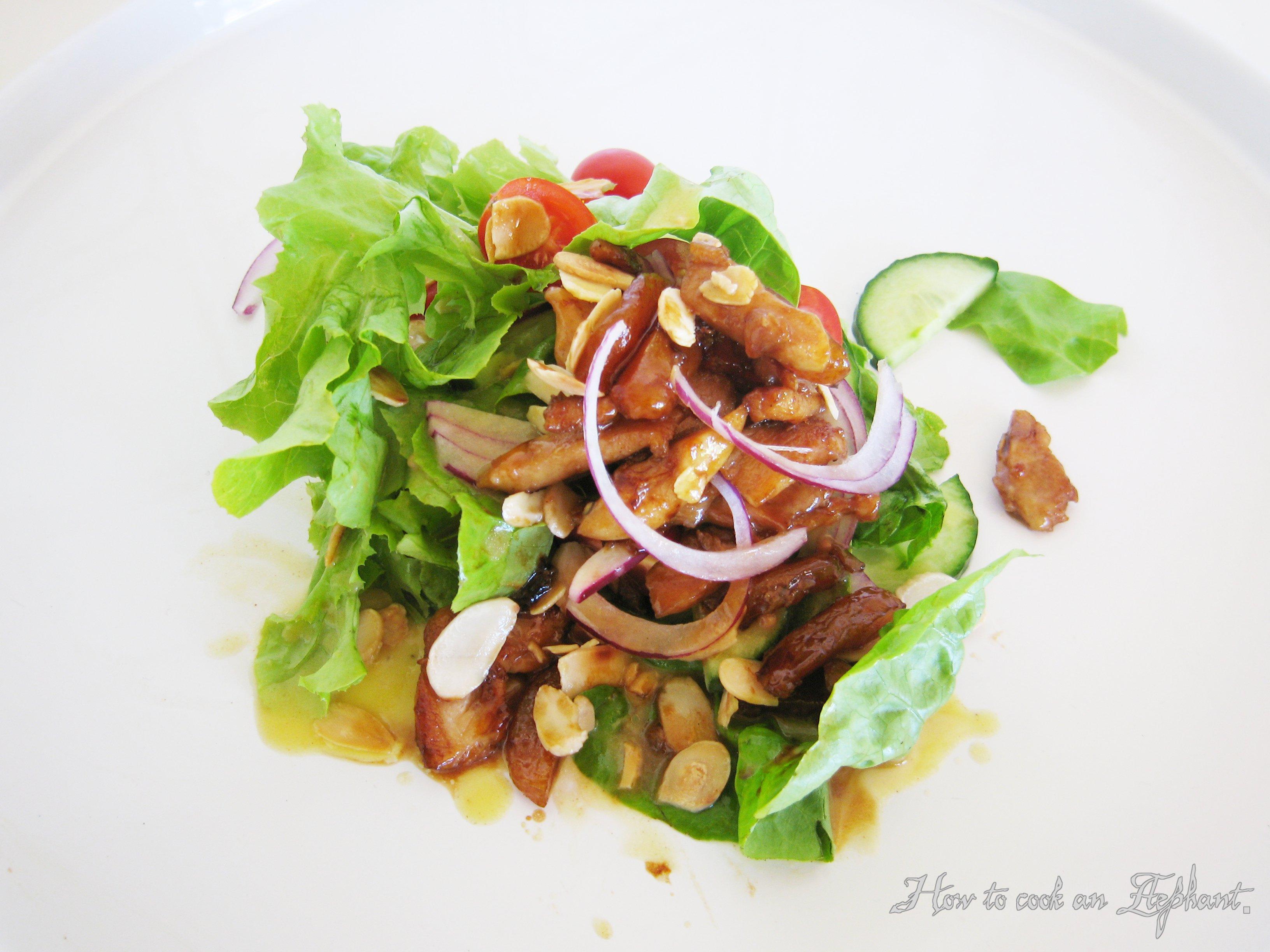 Almond chicken salad_